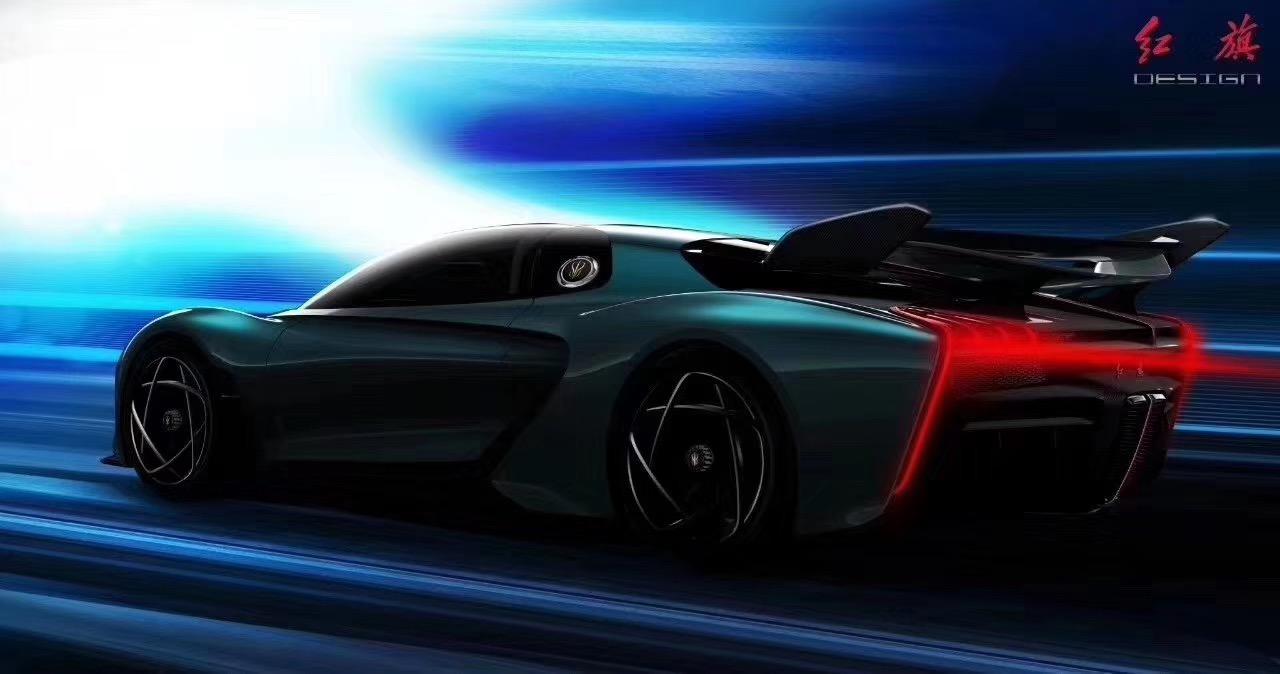 红旗S系超级跑车来了,绝不是PPT将实现量产化